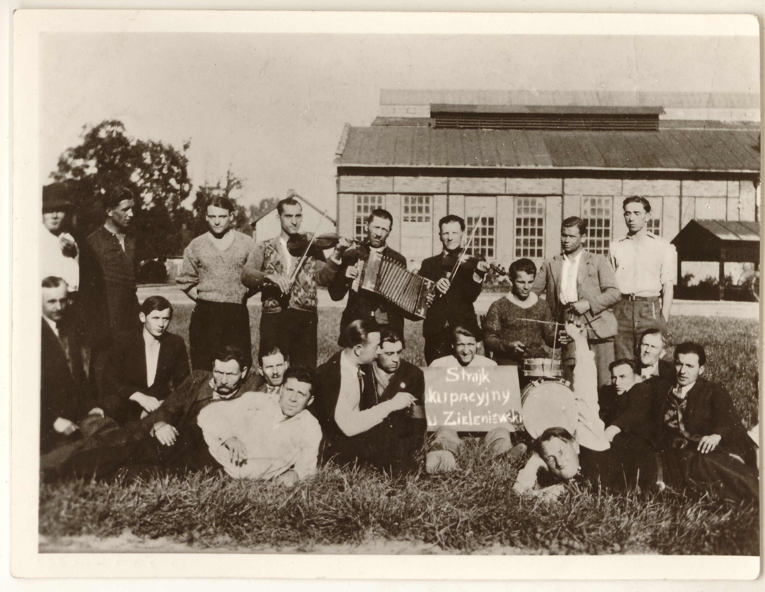 strajk-w-fabryce-zieleniewskiego-autor-fot-nieznany-1936