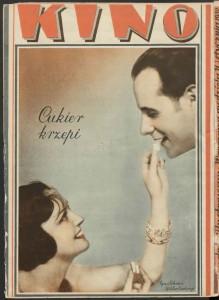 """""""Cukier krzepi"""" – najpopularniejsze hasło reklamowe międzywojennej Polski, """"Kino"""" 1931, nr 1"""